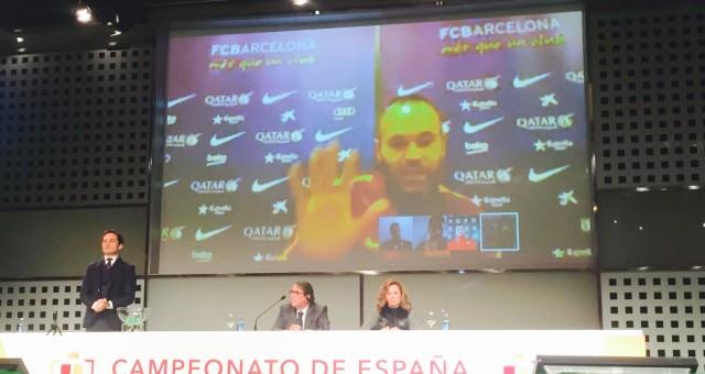 Los capitanes presentes en el #SorteoCopa de las semifinales