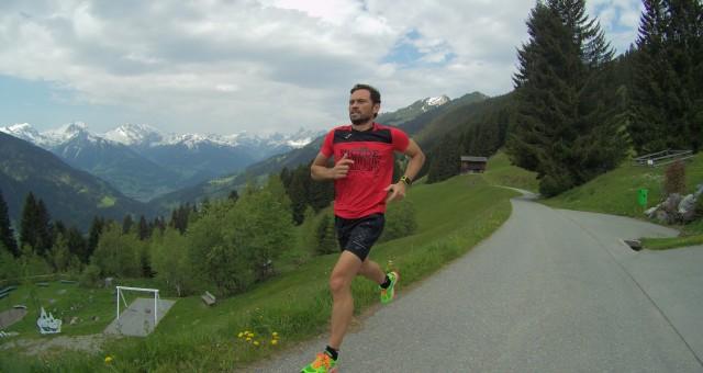 Corriendo por los Alpes austriacos, impactado por su paisaje