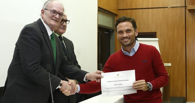 Marco Rocha obtiene el título de director deportivo de la RFEF