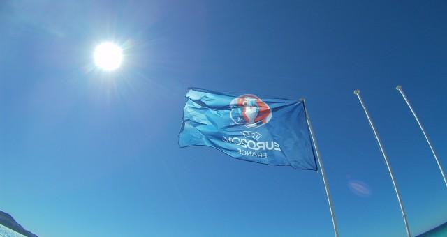 Niza en la Euro con su maravillosa luz azul