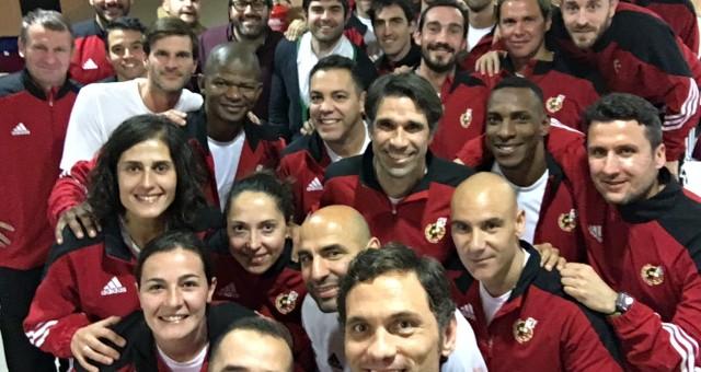 Profesor de comunicación y redes sociales en el curso de entrenadores UEFA B