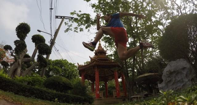 Bangkok, una exótica sauna urbana para correr