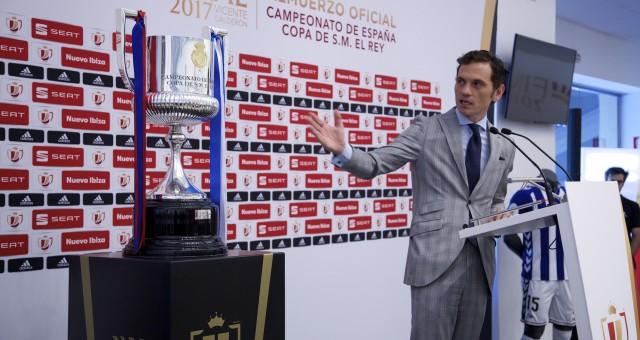 Presentador de la comida oficial de la Copa del Rey