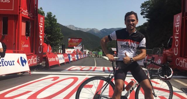 La Vuelta a España desde dentro gracias de Tissot