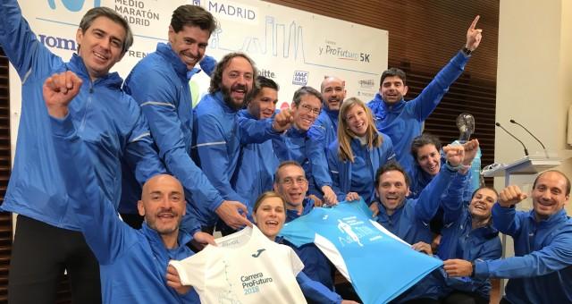 Llevamos la camiseta oficial de la Media de Madrid a relevos 70 kms