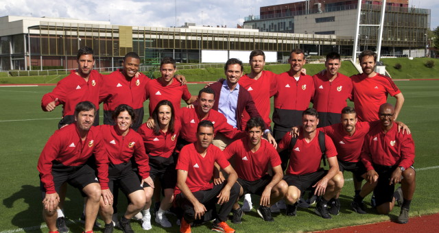Conferenciante sobre RRSS para jugadores de fútbol de élite
